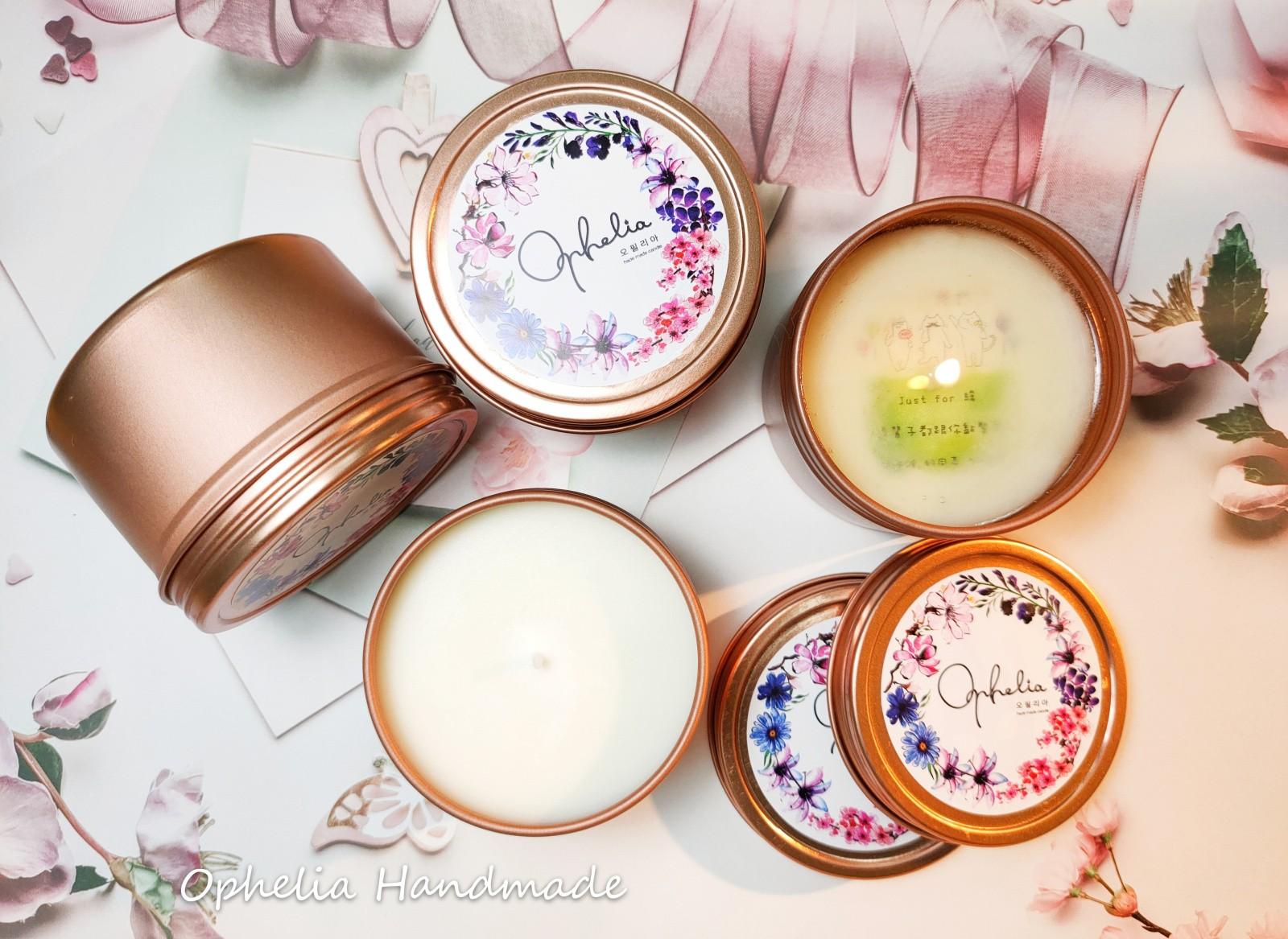 【奧菲莉亞手作香氛】香氛訊息蠟燭/告白蠟燭