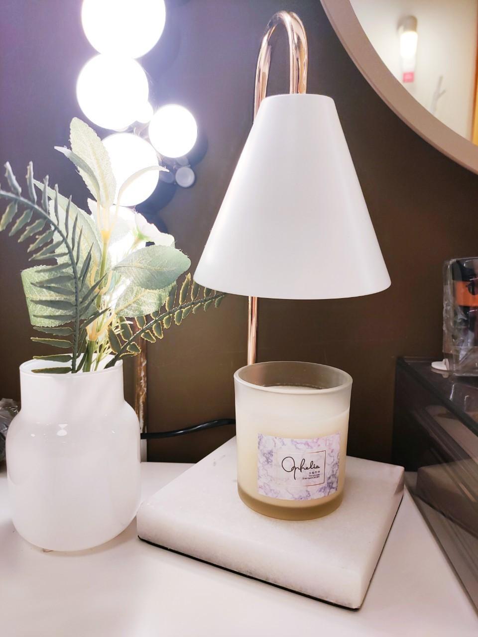 香氛大理石融蠟燈組-2色(含蠟燭140g*1組合)
