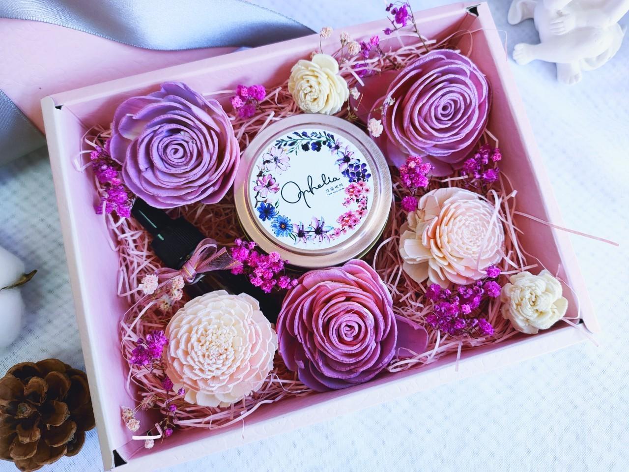 【期間限定~限量搶購】把愛說出來-情人節香氛禮盒