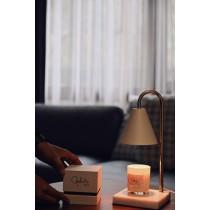 香氛大理石融蠟燈組-2色(含蠟燭140g*1組合、贈ins火柴棒1罐)