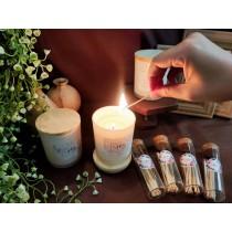 【奧菲莉亞手作香氛】香氛護膚蠟燭-140G(贈ins火柴棒1罐)