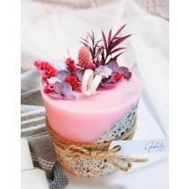 【奧菲莉亞手作香氛】韓國專利石粉擴香蠟燭-乾燥花系列1