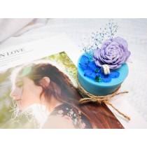 【奧菲莉亞手作香氛】韓國專利石粉擴香蠟燭-不凋花系列1