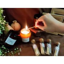 【奧菲莉亞手作香氛】香氛護膚蠟燭-190G(贈ins火柴棒1罐)