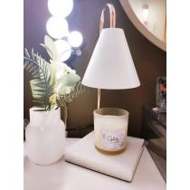 香氛大理石融蠟燈組-2色(含蠟燭190g*1組合)