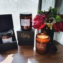 【奧菲莉亞手作香氛】香氛護膚蠟燭-190G(買10送1)
